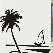 compare prices sailboat wall sticker mural online shopping buy free shipping removable diy mural wallpaper beach coconut tree sailboat wall stickers home decoration china