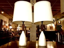 alabaster base table lamps 2 cool stuff houston mid century
