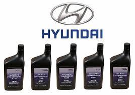 hyundai elantra transmission fluid 5 quart pack genuine for hyundai accent atf sp iii automatic trans