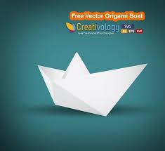 Origami Illustrator - free vector origami boat free vector in adobe illustrator ai ai
