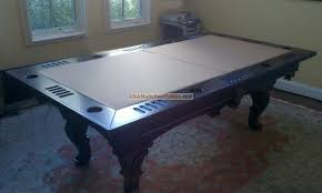 pool table conversion top marvelous house concept to pool table conversion top dining house