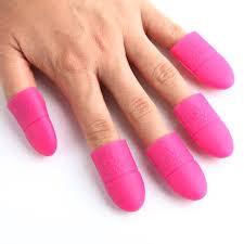 silicone uv gel nail polish remover gel soak off remover clip