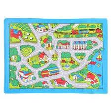 Car Play Rugs Children U0027s Rug Kids City Town Road Map Village Car Play Mat Wide