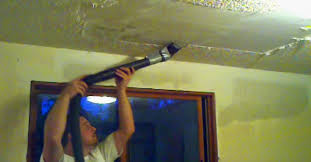 Remove Painted Popcorn Ceiling by He U0027s Sick Of His Popcorn Ceiling When He Tapes This Onto His