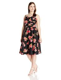 Amazon Com Stop Staring Women U0027s Plus Size Ariana Swing Dress