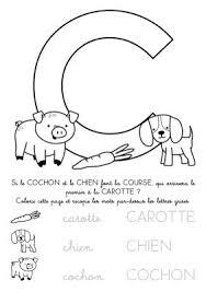 Coloriage à imprimer  Alphabet Lettre C
