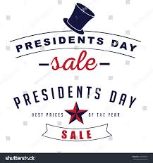 presidents day sale icon insignia set stock vector 248665084