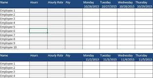 apps for business weekly employee schedule template excel free