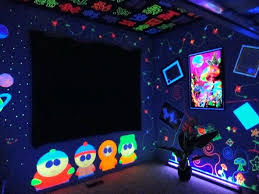 black light party clothes black light wallpaper for bedroom cool ideas black light party