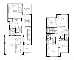 Double Storey House Floor Plans Sensational Design Ideas 4 Bedroom House Plans Double Story 15