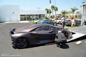 lamborghini truck lamborghini newport beach blog 2 2 million dollar sesto elemento