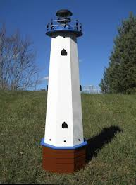 decorative lighthouses for in home use amazon com solar lighthouse wooden well pump cover decorative