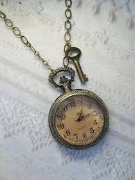 vintage necklace watch pendant images Through the looking glass i love need pinterest watches jpg