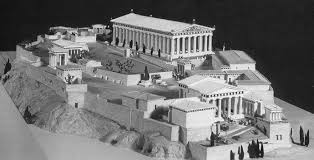 classical period of greece 480 323 bc reconstructed model of
