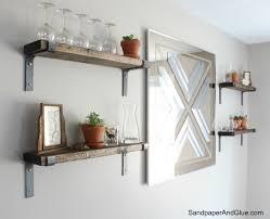 100 display shelving creating a wood shelving units home