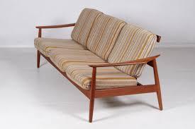Teak Furniture Singapore Teak Sofa By Arne Vodder For France U0026 Son 1960s For Sale At Pamono