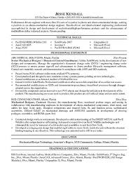 mechanical engineer resume template mechanical engineer cv example