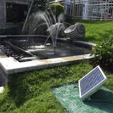solar u2013 water fountains ideas