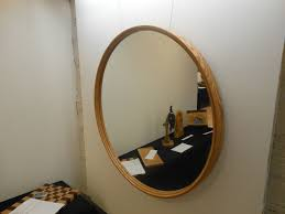 Round Mirrors Hand Crafted Round Mirror Frame By K H Gunderson Custommade Com