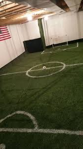 i wish i could have this in my house indoor soccer field