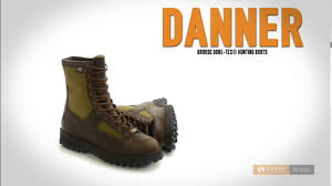 danner grouse gore tex hunting boots waterproof for men youtube