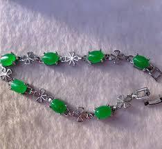 aliexpress yang malay bracelet icy green quartzite dan yang shaped bracelet in