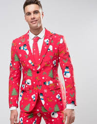 christmas suit oppo suits opposuits slim christmas suit tie