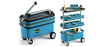 Tool Cabinet On Wheels by A Pop Up Toolbox On Wheels Puts All Your Tools In Easy Reach
