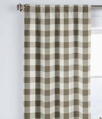bold check curtains drapes and draperies french country styles