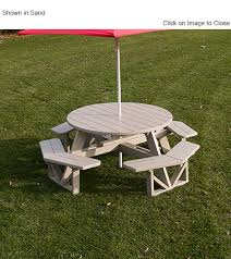polywood ph53 commercial grade picnic table polywood furniture