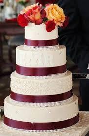 wedding cake bakery near me burgundy fall wedding cake palermo s custom cakes bakery