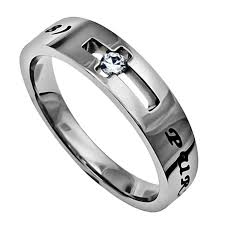 bible verse rings purity ring for stainless steel jesus faith