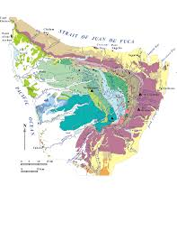 Olympic National Park Map Pacific Northwest Geologic Mapping And Urban Hazards