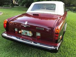bentley corniche convertible 1986 rolls royce corniche convertible for sale in ramsey nj on