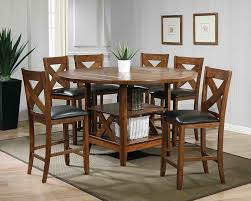 counter dining chairs ultimate accents lodge 7 piece counter height dining set u0026 reviews