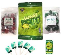 pickle candy pickle candy sler gift pack 5pc set dill pickles lollipops
