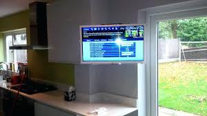 kitchen televisions under cabinet the best kitchen tv under cabinet mount show set u followfirefishcom