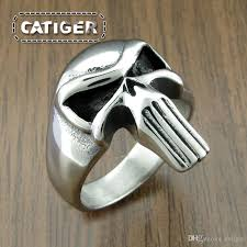 cool fashion rings images New cool 316l stainless steel fashion punisher skull ring punk jpg