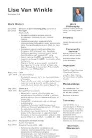 best ideas of quality assurance manager resume sample about sample