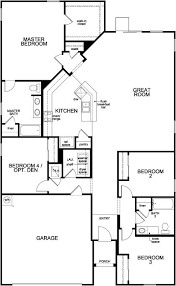 the hayden u2013 new home floor plan in avery park by kb home