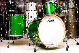 Shamrock Green Pearl Mcx 4pc Drum Set 22 10 12 16 Shamrock Green Drum Kits