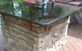how to make an kitchen island island how to build a stone outdoor kitchen how to build a
