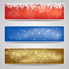 christmas banner backgrounds free vector free vectors ui download