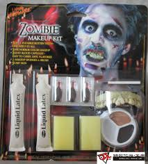 halloween prosthetic makeup kits how to apply zombie makeup kit mugeek vidalondon