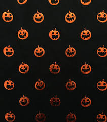 Joann Halloween Fabric by Doodles Halloween Interlock Cotton Fabric 57