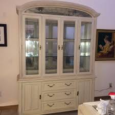 lisbon solid rubberwood china cabinet contemporary cabinet with hutch regarding keller china buffet set
