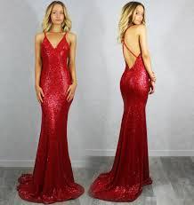 wedding evening dress backless wedding evening dresses 2016 v neck sparkly
