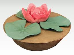 biodegradable urns serenity lotus flower biodegradable water burial cremation urn