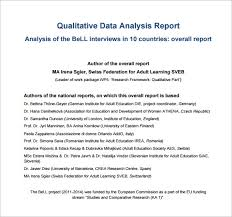 project analysis report template analysis templates 28 free word excel pdf format