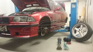 bmw workshop ghetto tuning blog archive instalare suspensie pneumatica bmw e36
